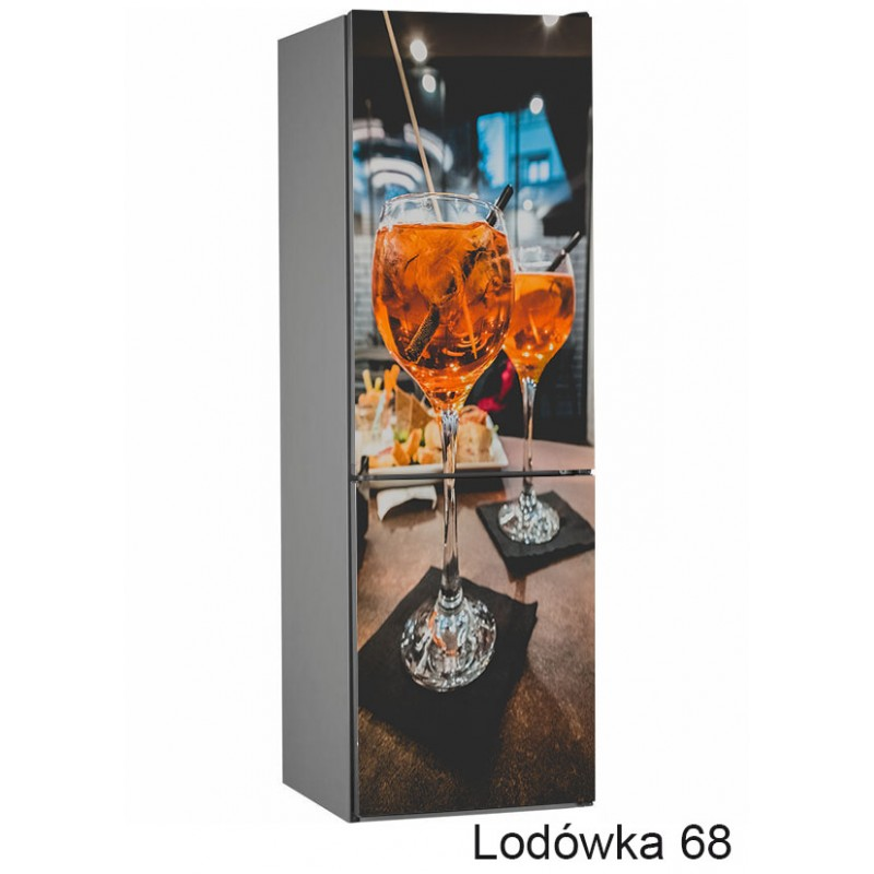 Lodówka kieliszek wino 68