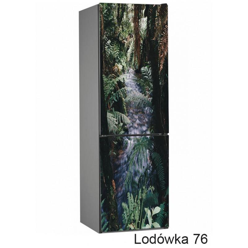 Lodówka liście natura 76