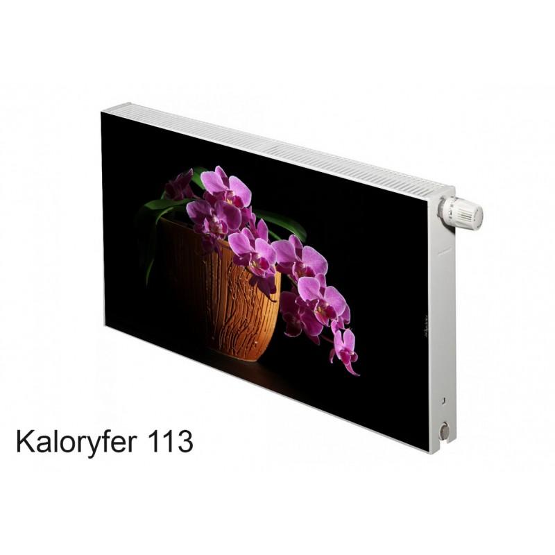Magnes na kaloryfer kwiaty storczyk 113