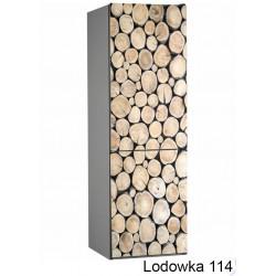 Lodówka drewno 114