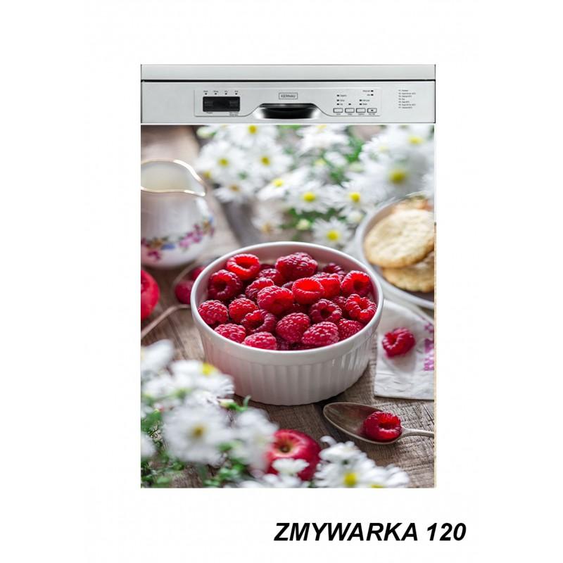 Mata magnetyczna na zmywarkę owoce maliny 120