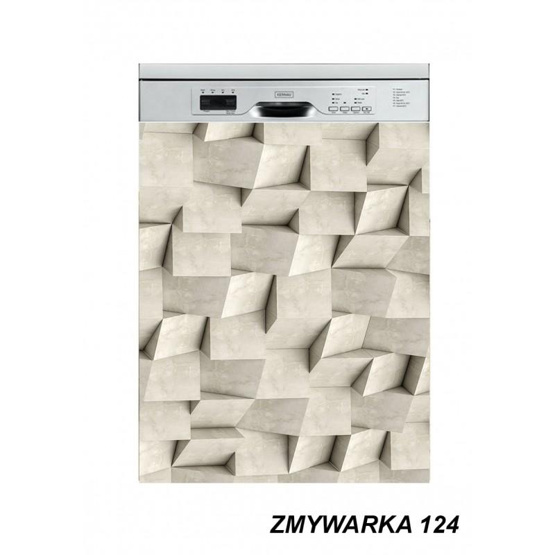 Mata magnetyczna na zmywarkę  abstrakcja 124