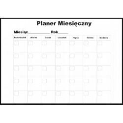 Planer Miesięczny Magnetyczny