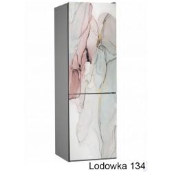Lodówka abstrakcja marmur 134