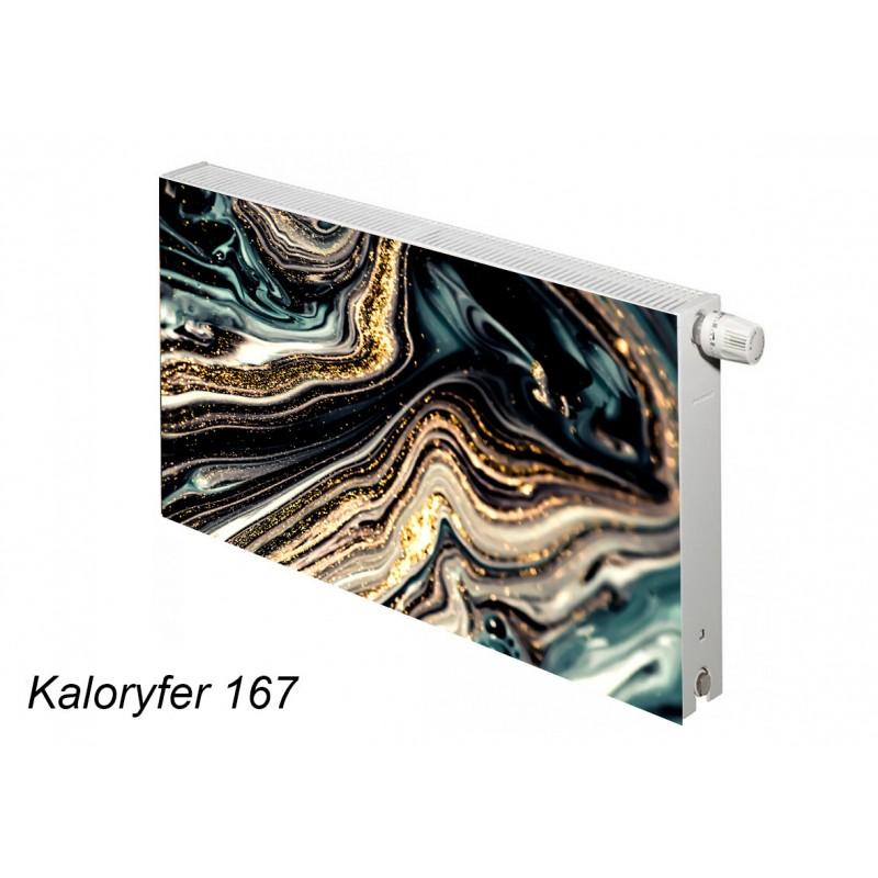 Magnes na kaloryfer abstrakcja marmur 167