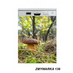 Mata magnetyczna na zmywarkę natura las grzyby 136