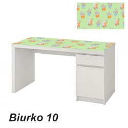 Okleina na biurko króliczek 10