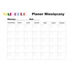 copy of Planer Miesięczny Magnetyczny