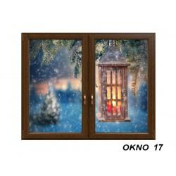 Świąteczna okleina okienna 17